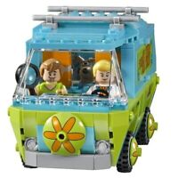 30Psc Scooby Doo Series Mystery Machine Bus Adventures Building Blocks Toys New