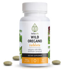 Oregano 60 tablets 550mg Immune support, anti-fungal antibiotic candida bacteria
