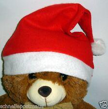 Weihnachtsmütze  Nikolausmütze Mütze Weihnachten mit Bommel