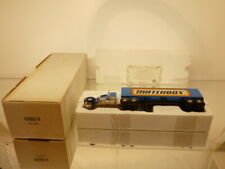 MATCHBOX PETERBILT CREW CAB TRUCK + TRAILER - 1:53? - EXCELLENT IN BOX