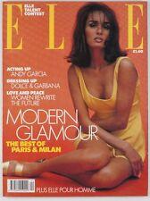 Yasmeen Ghauri HELENA CHRISTENSEN Cecilia Chancellor ISSEY MIYAKE  Elle magazine