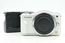 Panasonic Lumix DMC-GF3 12.1MP Mirrorless Digital Camera Body MFT Silver    #086