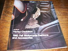 Harley 1980 Fall Fashions & Assys Brochure