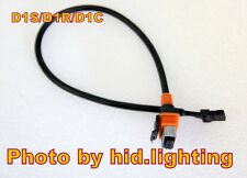 1x HID Bi Xenon D1S D1R D1C Bulb Wire Harness Power Adaptor Cable Cord connector