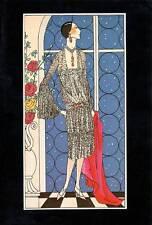 Vintage ART DECO Fashion Print..1925 Art, Gout, Beaute..'Fugitive'