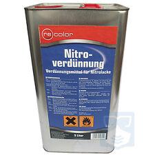 Waschverdünnung für Autolack Nitrolack 5L Recolor Nitroverdünnung Kunstharzlack