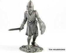*France. Knight* Tin toy soldiers. 54mm miniature figurine. metal sculpture