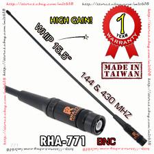RETECH RHA-771 BNC Antenna Dual Band for ICOM IC-W32A TK-208 TK-308 IC-T7H IC-V8