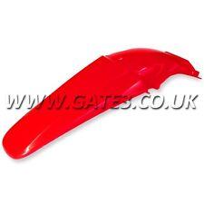 HONDA CR250 CR 250 2002-2007 RED REAR FENDER MUDGUARD MOTOCROSS MX PLASTICS