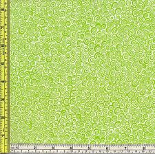 Snail Shell Walk Lime Citrus Peel Sewing Cotton Marshall Fabric BTQY off bolt