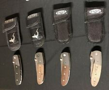 Microtech Knives LCC Greg Lightfoot Design Knives D/A M/A RARE Lot of 4