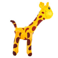 Kids PVC Inflatable Giraffe Halloween Beach Pool Themed Party toy np