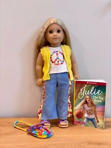 American Girl Doll - Julie - Excellent Condition
