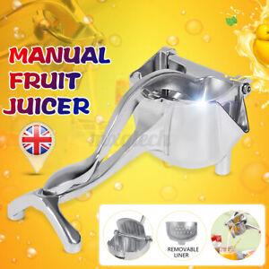 Lemon Fruit Juicer Orange Juice Squeezer Kitchen Manual Hand Press Machin GB ♡