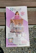 Dura Craft Heritage Doll House Mansion In Box