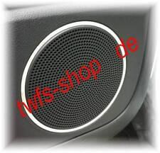 D Ford Kuga 1 Chromringe Chrom Ringe für Türlautsprecher Edelstahl poliert 2Stk