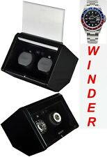 Luxury Display Dual Automatic Watch Winder-model: VISTA JEWEL-02GB -SPECTACULAR!