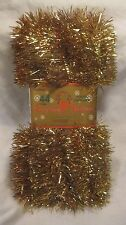 Gold Tinsel Garland In A 44 foot Long Piece Everything For Christmas    NEW ch08