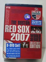 The Boston Red Sox 2007 World Series Collector's Edition 8 Disc Box Set DVD NEW