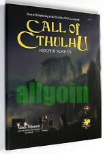 Call of Cthulhu 7th Edition KEEPER SCREEN + MAPS + ADVENTURES Chaosium #23137