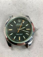 Rolex Milgauss Auto Mens Watch 116400V30B7240 Selling As-is
