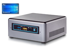 Intel Nuc Mini PC - Intel NUC7CJYH bis 2,7GHz -ab 128GB SSD -ab 4GB - Win10Pro