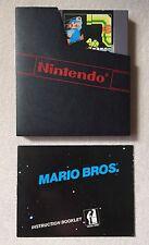 The Original Mario Bros. Arcade Classics Series (Nintendo, 1986) NES
