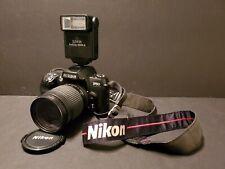 Nikon F60 Black 35mm SLR Camera AF AI-P Mount. W 28-80mm Nikon lense!!!