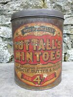Collectable Vintage c1920's Nuttall's Mintoes Tin - Made In Doncaster