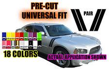 Dodge Ram Neon Charger Avenger R/T SRT Fender Hood Hash Stripe Universal