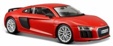 Audi R8 V10 Plus 2015 - Red , Maisto 1/24 ,Classic  Model Car