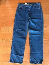 Carhartt B180 38x34 Jeans Work Pants Denim Blue Traditional Fit