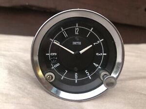 SMITHS CAR CLOCK JAGUAR E TYPE CTE 3104/05 12V NEGATIVE EARTH VGC WORKING