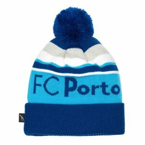 FC PORTO POM KNIT BEANIE OFFICIALLY LICENSED Fi COLLECTION FREE SHIPPING