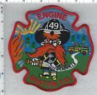 Boston Fire Department (Massachusetts) Engine 49 Shoulder Patch