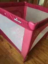 Xxl Reisebett mit Matratze pink