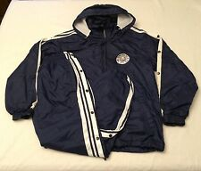 Tang Soo Do ITF Navy Blue Lined Warm Up Windbreaker Track Suit Size Small