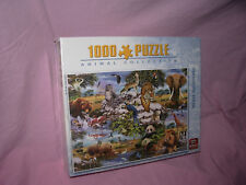 /// PUZZLE ANIMAUX / WILD ANIMALS 1000 PIECES KING NEUF ///
