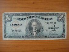 Billet Caraïbes, Caribbean, 1 peso, 1960