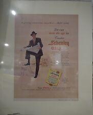 Original 1957 Vintage Advertisement mounted ready to frame Schenley OFC