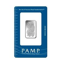 Lingotes 20 gramos PAMP suisse 999 finamente plata 20g silverbar fortuna blister