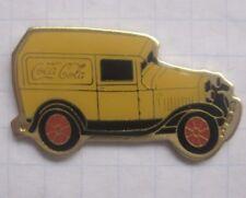 Coca-cola/Oldtimer Truck... coche pin (154a)