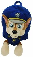 Trade Mark Collections TRADE MARK PAW PATROL PLUSH BACKPACK - CHASE Kids BN