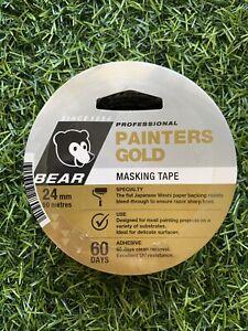 Norton 24 x 50mm Painters Gold Masking Tape *J2
