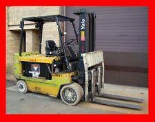 Yale 12,000 Pound Capacity Heavy Duty Forklift Model Erc120