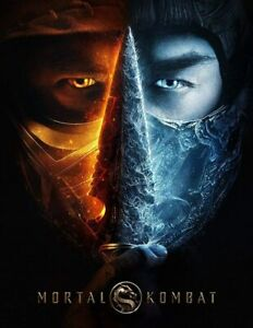 MORTAL KOMBAT (DVD, 2021) - Brand New - Lewis Tan - Jessica McNamee - Free Ship