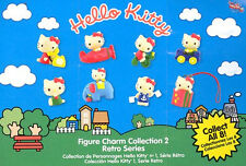 Hello Kitty Figure Charms Collection 2 Retro Series SET OF 6