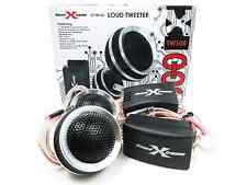 """SoundXtreme ST-TW105 1"""" 300 Watt  Pair Car Stereo Tweeters With Crossover"""