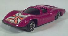 "Vintage Generic Magenta Purple Alfa Romeo 2.5"" Diecast Scale Model Hong Kong"