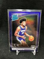 2018 OPTIC MARVIN BAGLEY III PURPLE HOLO PRIZM RATED ROOKIE REFRACTOR #168 B70